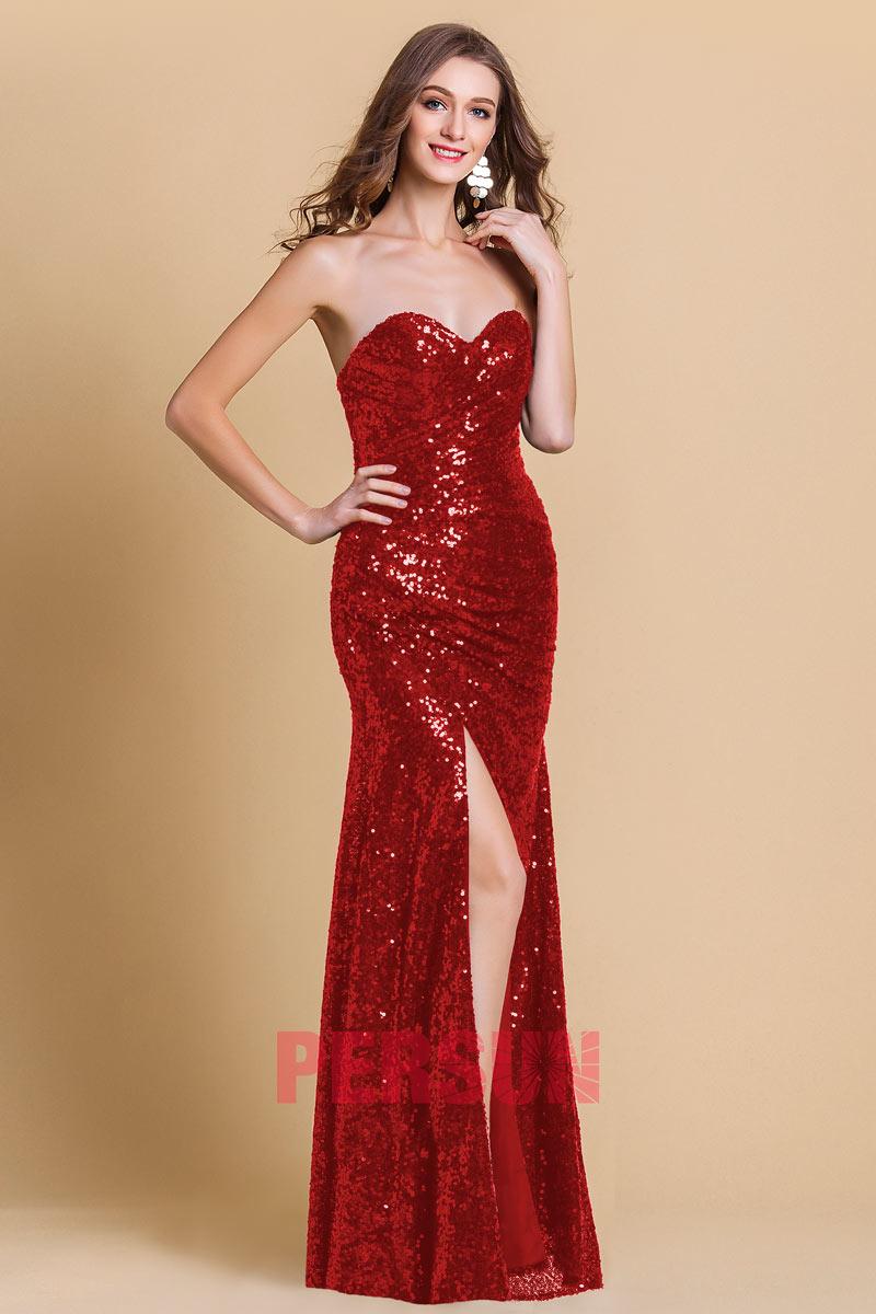 1d57b02e14 ... PERSUN-robe-de-soiree-sequin-rouge-moulante-bustier- ...